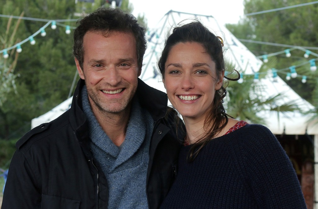 Guillaume Cramoisan et Catherine Demaiffe dans Camping Paradis